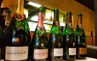 Champagne Bollinger R.D. 2004 lunch, de line up