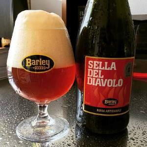 Barley Bier Sella del Diavolo rechts
