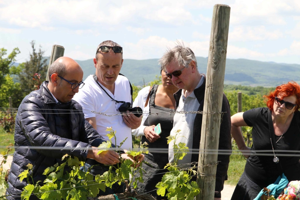 Adje Middelbeek wine and food reis umbrie