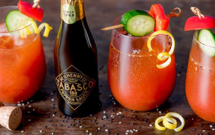 Tabasco Diamond Reserve Bloody Mary cocktail