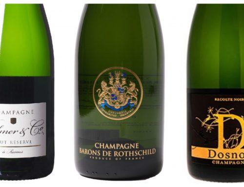Champagnes om te genieten, niet te vergieten!