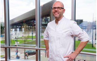 Chef-kok Wim Severein The Millen Marriot Rotterdam