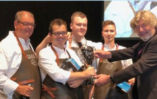 Nederlands team wint chefs-interland PalingbokAal 2018 uitgelicht