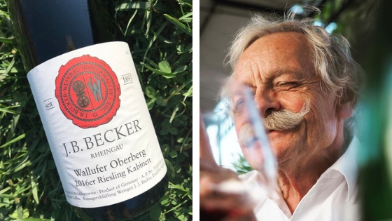Cest le Vin Becker Riesling uitgelicht