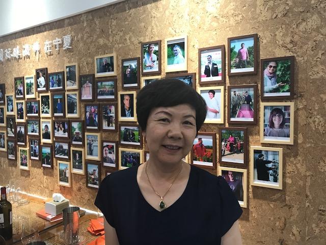 China diner met wijnmakers mw. ZHOU Shu Zhen JPG