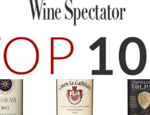 Wine Spectator Top 100 van 2018 bekend!