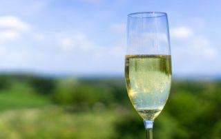 Mousserende wijn champagne sekt uitgelicht