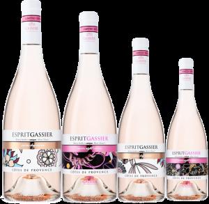 Gassier limited edition 4 flessen