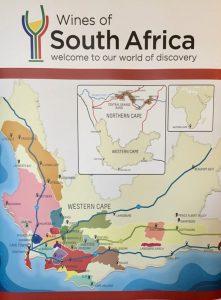 Zuid-Afrika gebieden