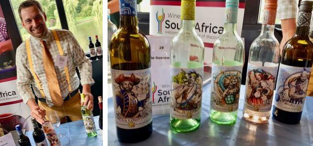 Zuid-Afrika wijnmaker en wijnen