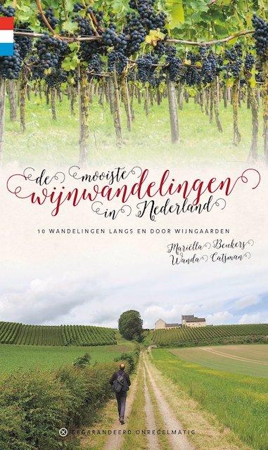 De mooiste wijnwandelingen in Nederland kaft