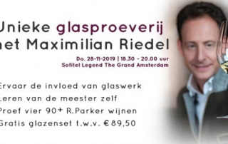 Riedel Performance glasproeverij