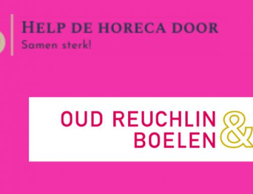 Oud Reuchlin & Boelen helpt de horeca door