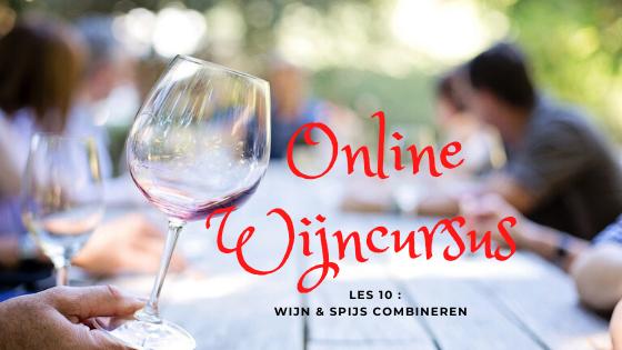 Online Wijncursus les 10 wijn en spijs combineren uitgelicht