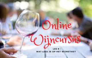 Online Wijncursus les 8 wat lees je op een wijnetiket