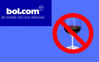 Bol.com geen wijn