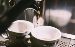 Koffie uitgelicht